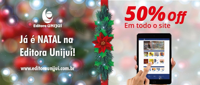 Banner Oferta Natal 50% OFF